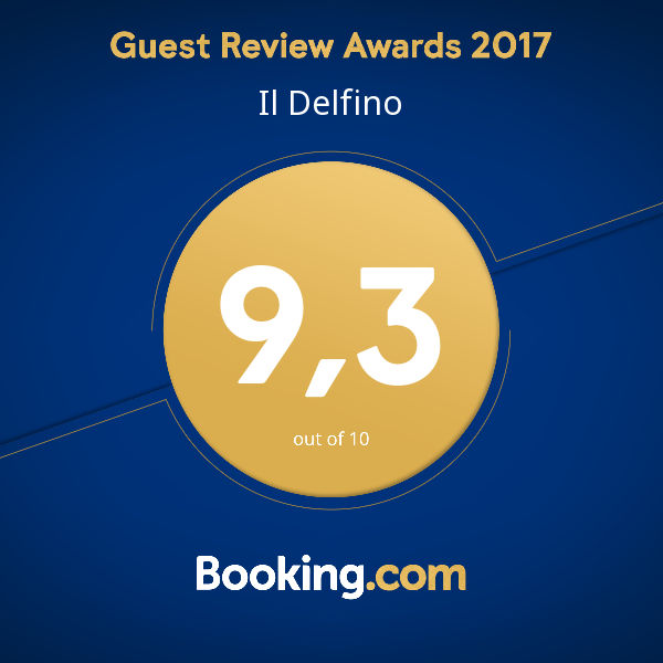 Guest Review Awards 2017 Booking punteggio